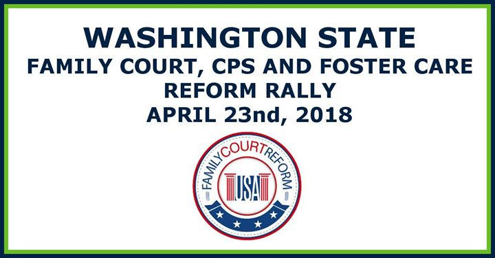 WA State Parental Rights Rally
