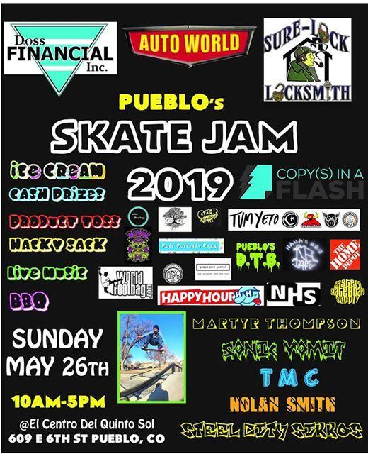Pueblo Skate Jam