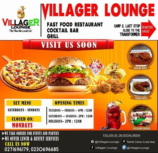 All White House Party At Villager Lounge Accra