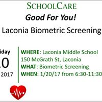 Laconia Biometric Screening