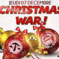 Christmas WAR - BDE Droit  Eco-G  CPEC  7 dcembre