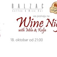 Wine Night with Mila &amp Kolja