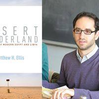 Word Up - Book Launch Desert Borderland by Matt Ellis