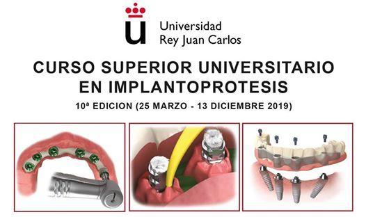 Curso Superior Universitario en Implantoprtesis - URJC