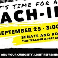 Teach-In at Laurier