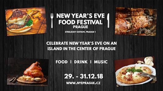 New Years Eve Food Festival  Steleck ostrov 29. - 31.12