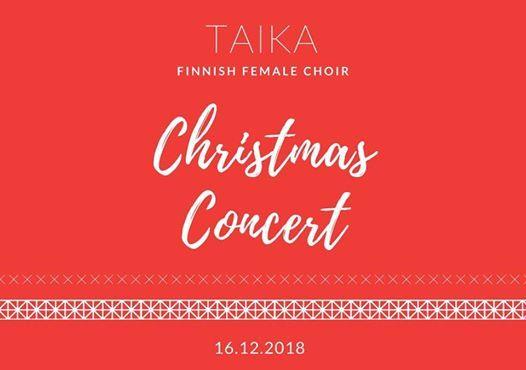 TAIKA Choir - Christmas Concert
