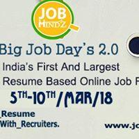 Big Job Days 2.0