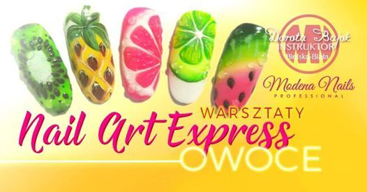 Warsztaty art express. Owoce