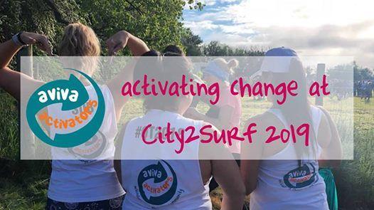Aviva Activators at City2Surf 2019