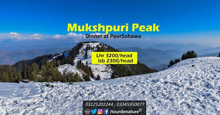 1 Day_Hike to Mushkpuri Peak_24 Dec 2017