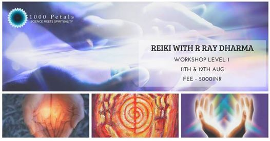 Reiki Level 1 with R Ray Dharma