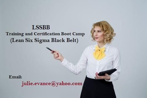 LSSBB Exam Prep Boot Camp training in Cornwall ON