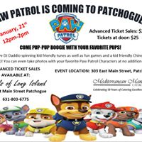 Paw Patrol is Coming to Patchogue