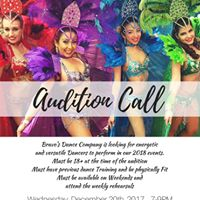 Bravos Dance Company Audition Call