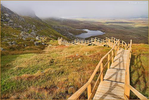 CUILCAGH MOUNTAIN WALK at Marble Arch Caves Global Geopark ...
