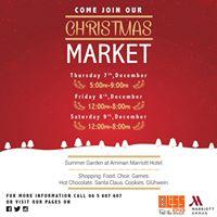 Christmas Market at Amman Marriott Hotel