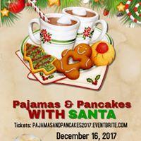 Pajamas and Pancakes with Santa