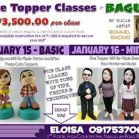 Baguio Basic Figure Modeling Cake Topper Class