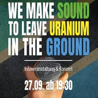 We Make Sound to Leave Uranium in the Ground