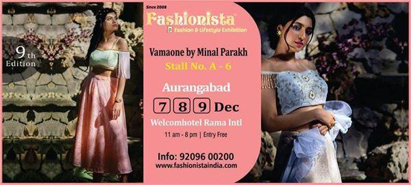 Vamaone by Minal Parakh at Fashionista Exhibition Aurangabad