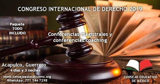 Congreso internacional de derecho 2019