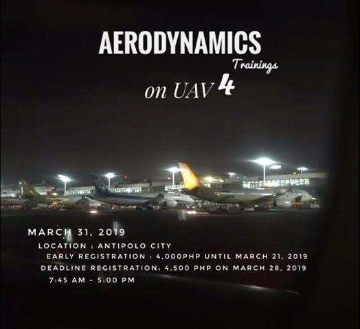 AERODYNAMICS Trainings On UAV4