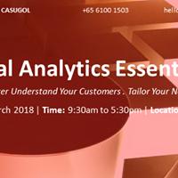 Behavioural Anaytics Essentials (BeAE) Singapore