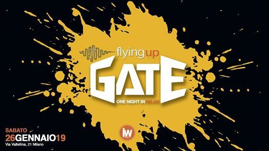 Flying Up - One Night at GATE Milano