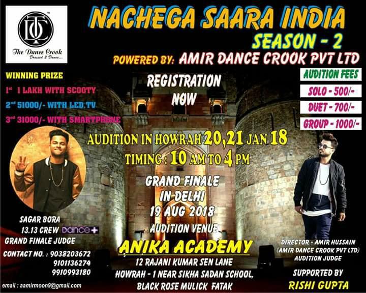 Nachega Saara India Season-2