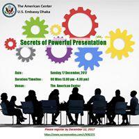 Secrets of Powerful Presentation