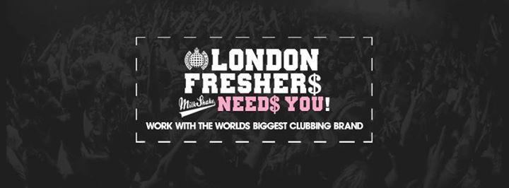 Milkshake Ministry of Sound  Freshers Jobs & Recruitment 2018