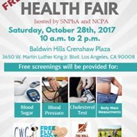 Free USC School of Phrmcy Health Fair