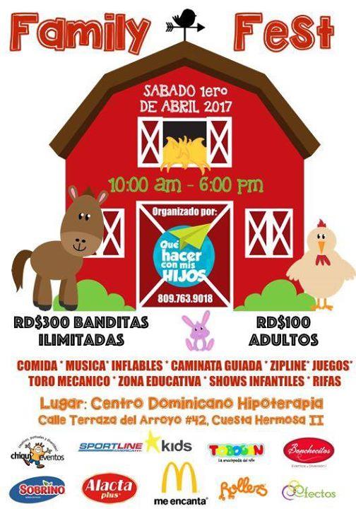 Bonchecitos En Family Fest De Que Hacer Con Mis Hijos En Rd