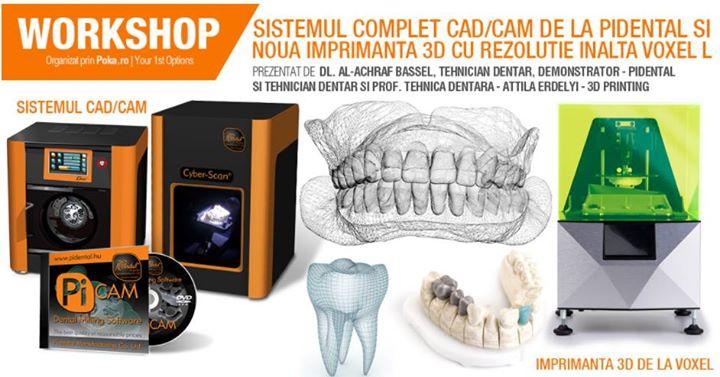 Sistem CadCam si Imprimante 3D