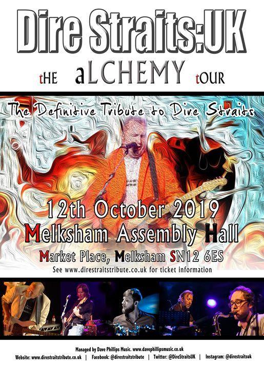 Dire Straits UK - The Alchemy Tour - Melksham Assembly Hall