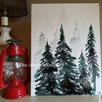 STRATFORD Inked Forest Paint Class