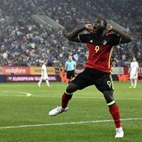 WK Voetbal Belgi x Tunesi - Bar Mitte