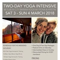 March 34 2-Day Yoga Intensive with Kristen &amp Fiona