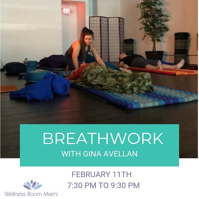 BREATHWORK With Gina Avellan