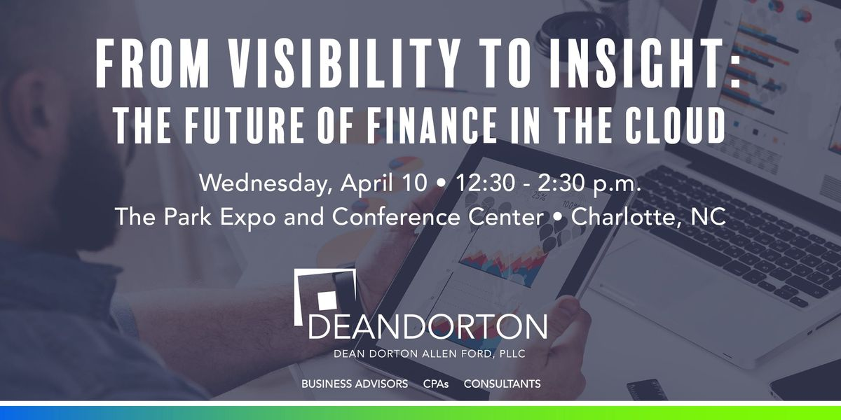 Finance in the Cloud Charlotte