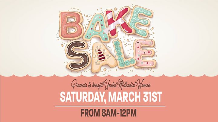 Bake Sale host by The United Methodist Women of Trinity UMC