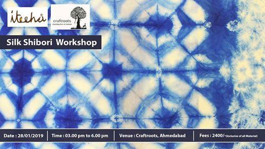 Silk Shibori Workshop