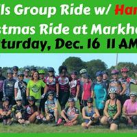 Ladies Join The Hardtail Honies Christmas Group Ride