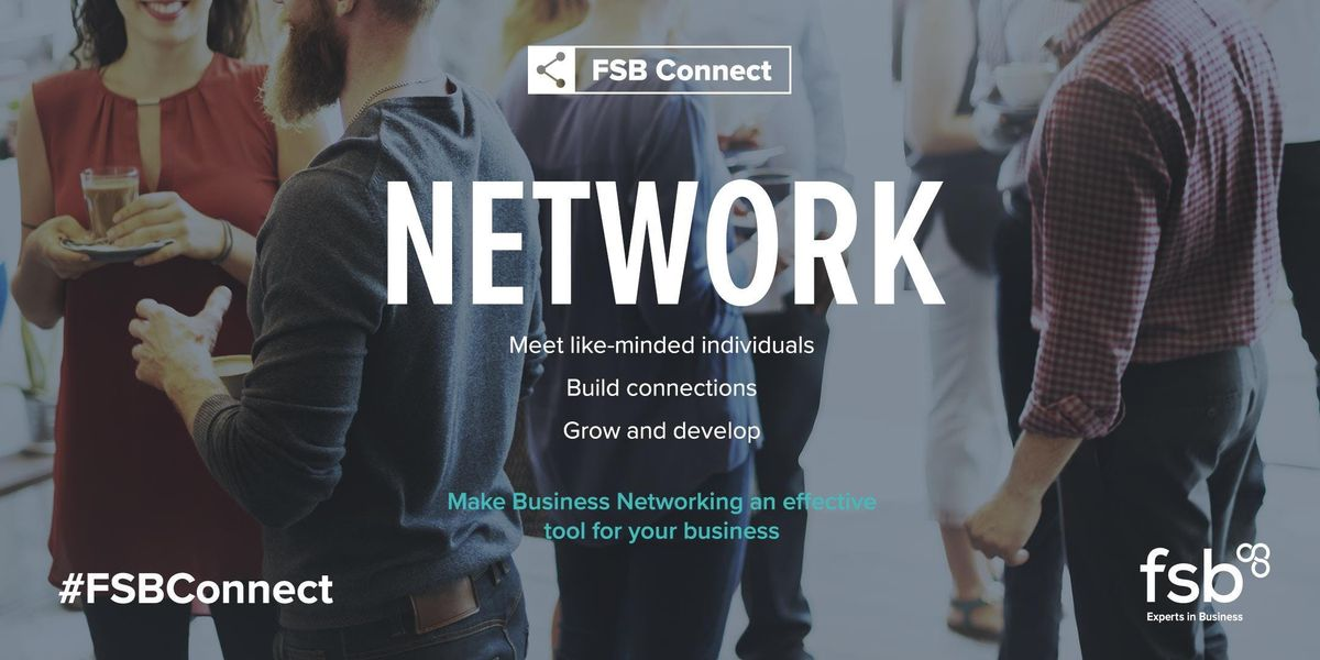 FSBConnect Chesterfield Networking - Making Tax Digital
