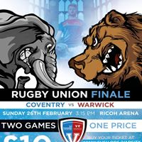 Varsity 2017 The Finale - Rugby Union