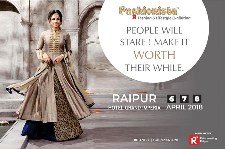 FASHIONISTA Fashion & Lifestyle Exhibition - Raipur