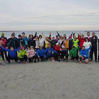 Antrenament SanaSport nr 127 - alergaremers - plaja Mamaia - duminica 22.11.2015 ora 09