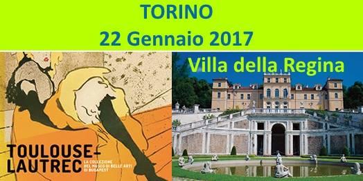 Toulouse-Lautrec e Villa della Regina a Torino.