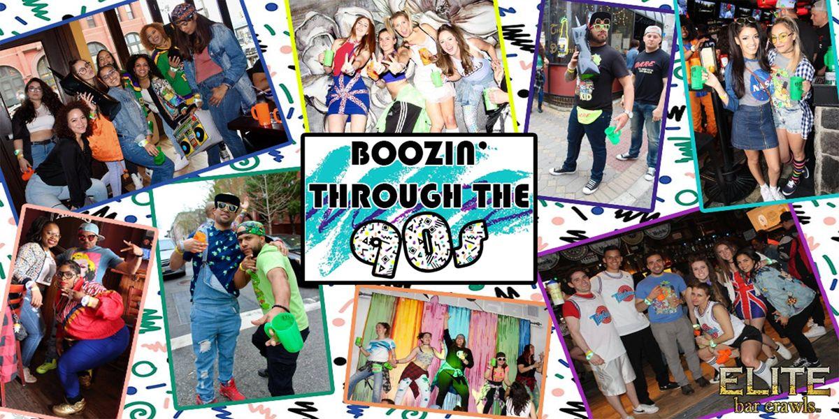 2019 Boozin Through The 90s Bar Crawl  Hartford CT